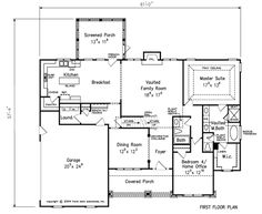 craftsman house plans with interior photos   altamonte f1 150x150 Altamonte Craftsman House Plan Simple & Sweet