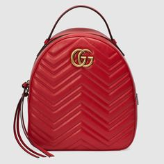 Gucci GG Marmont quilted leather backpack -- Only Always fe18c63ed8560