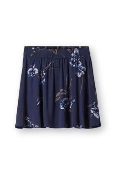 Akina Crepe Skirt, Iris Orchid, hi-res