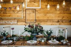 Rustic wedding, winter wedding - rustic wedding reception in the cow shed Rustic Wedding Save The Dates, Rustic Wedding Gowns, Rustic Wedding Reception, Rustic Wedding Guest Book, Wedding Ceremony Backdrop, Rustic Wedding Flowers, Shed Wedding, Wedding Ideas, Cow Shed