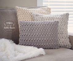 Home Decor Crochet Pattern crochet pillow crochet throw