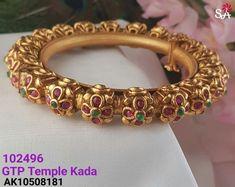 gold bracelets for babies Gold Temple Jewellery, India Jewelry, Gold Jewelry, Jewelry Shop, Gold Bangles Design, Gold Jewellery Design, Handmade Jewellery, Ruby Bangles, Gold Bracelets