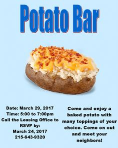 Monday Munchies is one of the easiest resident appreciation events ...