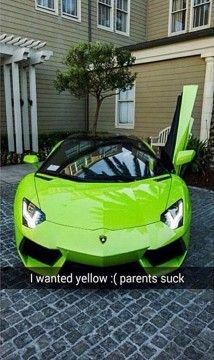 Spoiled rich kids on snapchat