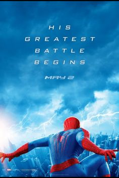 The amazing Spider-Man 2.. I CANT WAIT