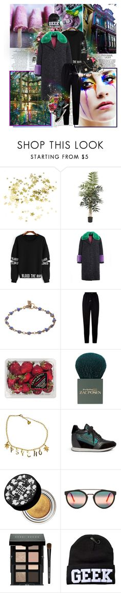 """""""New Blood"""" by lady-redrise ❤ liked on Polyvore featuring Nearly Natural, Gucci, Isabel Marant, Givenchy, FRUIT, MAC Cosmetics, Ash, Christian Dior, RetroSuperFuture and Bobbi Brown Cosmetics"""