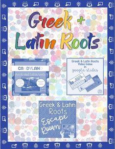 Games for Teaching Greek and Latin Roots Roman Literature, Latin Root Words, Teaching Latin, School Reviews, Review Games, English Language Arts, Teacher Blogs, Classroom Fun, Languages