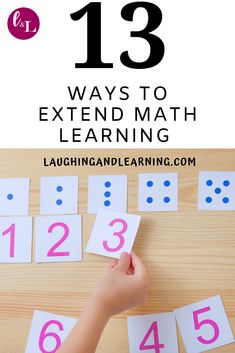 13 Activities To Do With Number Flash Cards! Here are 13 activities to extend math learning with number flash cards! Because the best way to use flash cards are as complements to engaging activities! Educational Toys For Preschoolers, Educational Baby Toys, Educational Activities, Preschool Activities, Therapy Activities, Education Logo, Baby Education, Education Quotes, Health Education