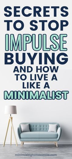 Becoming Minimalist, Minimalist Living, Feeling Defeated, Go To Walmart, Making A Budget, Declutter Your Home, Minimalist Lifestyle, Retail Therapy, Simple Living