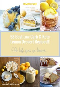If my Pinterest feed is any indication, I'm not the only one who is obsessed with lemon desserts right now!  So I've collected 58 of the best keto lemon dessert recipes from around the web to post here on IBIH.  Now the rest of my fellow lemonophiles (yes, that is really a word – just go...