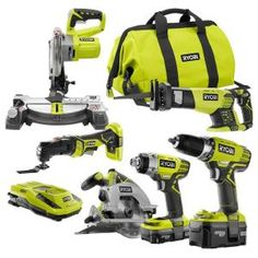 18-Volt ONE+ Lithium-Ion Cordless Combo Kit (6-Tool)
