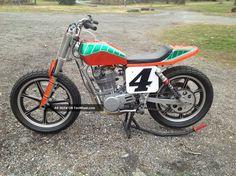 yamaha 500 flat tracker | 1978 Yamaha Xt Tt 500 Flat Tracker Not Suzuki Honda Kawasaki Flattrack ...