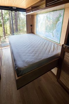 Brilliant ideas for camper vans! murphy bed camper van http://www.rydawell.com/conversions/