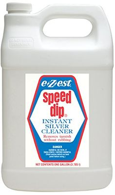 An instant silver cleaner that removes tarnish from sterling silver and silverplate without rubbing. Very economical may be used over...