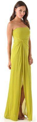 Bcbgmaxazria Maryanne Strapless Gown