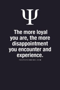The downside of loyalty