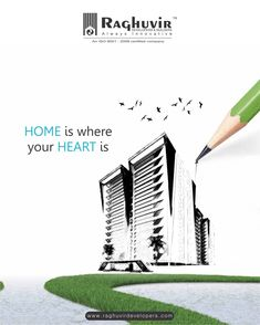 Home is not a place. Home is a feeling! Feel like HOME at Raghuvir's luxurious residential properties where everything has been crafted to make you feel at your best!  Call us at: +91-9638629131 for more information about our residential projects  #RaghuvirDevelopers #Raghuvir uilders