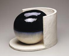 Jun Kaneko   Untitled, Construction, 1999   Hand-built glazed ceramic