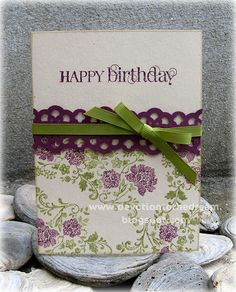 stampin'up birthday