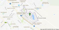 Map of Heritage Park, Cape Town, 7130 Somerset West, Johannes Gutenberg, Cape Town, Glove