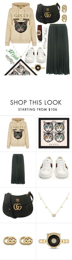 """""""#Hijab_outfits #modesty #Casual #Gucci"""" by mennah-ibrahim ❤ liked on Polyvore featuring Gucci and French Connection"""