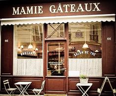 mamie gateaux - bistro (quiet paris), oldfashioned tea room w/ unusual pastries, tasty, filling dishes for lunch