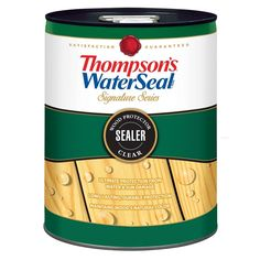 Thompson S Waterseal Signature Series Clear Exterior Stain And Sealer 5 Gallon Lowes Com In 2020 Exterior Stain Thompson Waterseal Deck Stain And Sealer