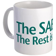 The SABBATH The Rest Is Up To You Mug on CafePress.com