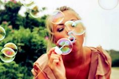 Oh this would be a fun idea for an engagement shoot! Use some bubbles. Would be really fun for spring!