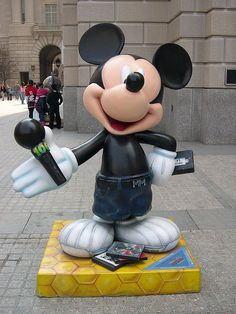 """Mickey in the Park"" by Black Entertainment Television.  Celebrate Mickey:  75 years of Mickey InspEARations."