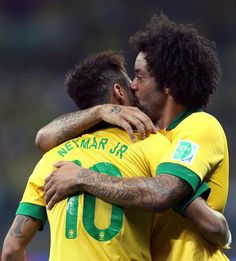 (Neymar and Marcelo) Real Madrid, Fifa, Marcelo Real, Brazil Team, Neymar Pic, I Love Him, My Love, Just A Game, Football Soccer