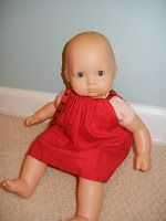 The Domesticated Mama: DIY Bitty Baby Doll Clothes