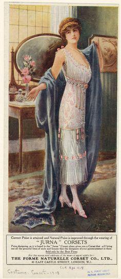 Jurna corsets, 1918