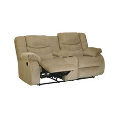 Darby Home Co Blackledge Double Reclining Loveseat Type: Manual, Upholstery: Beige