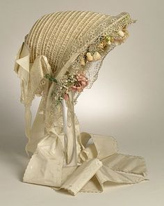 Woman's Bonnet  England or United States  late 1850s