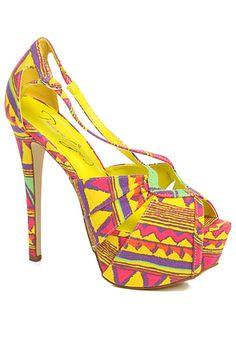 The Uprise Shoe in Yellow #karmaloop