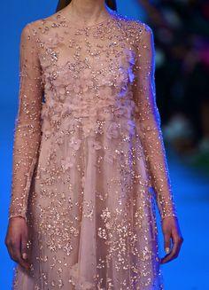 Elie Saab Couture S/S 2014 détail