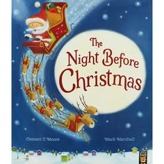 The Night Before Christmas (Paperback) Childrens Books Brand New End Date: Thursday GMT Buy It Now for only: Buy It Now Great Books To Read, Good Books, The Night Before Christmas, Christmas Books, Best Selling Books, Clash Of Clans, Nonfiction Books, Childrens Books, It Works