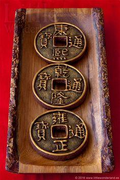 Monedas chinas de la suerte   Lucky Chinese coins