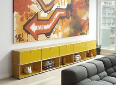 Side boards | Storage-Shelving | USM Modular Furniture Haller | ... Check it out on Architonic