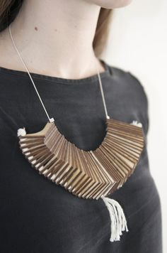 Wooden and Laser Cut Jewellery we created