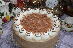 Nougat-Eierlikör-Torte
