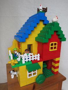 Haus aus Duplo