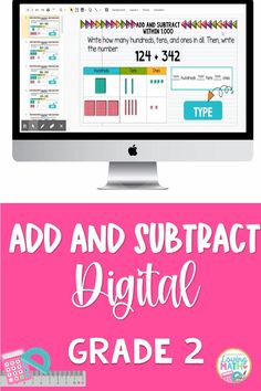 This set of interactive google slides will allow students to practice adding and subtracting within 1,000, using concrete models or drawings and strategies based on place value, properties of operations, and/or the relationship between addition and subtraction; relate the strategy to a written method. Also, students will understand that in adding or subtracting three-digit numbers, one adds or subtracts hundreds and hundreds, tens and tens, ones and ones.(2.NBT.7)