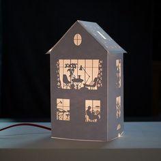Как сделать домик из бумаги своими руками, идеи, раскладки