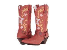 "Durango 12"" Floral Harness Ramblin Rose - Zappos.com"