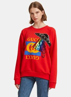 612f5df2 51 Best Gucci Look Ladies SS18 images | Blouses, T shirts, Tee shirts