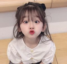 Cute Baby Girl Pictures, Cute Baby Boy, Cute Little Baby, Little Babies, Cute Girls, Cute Asian Babies, Korean Babies, Asian Kids, Cute Babies