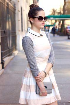 Ladylike combo. Fashion.