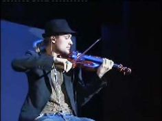DAVID GARRETT -  Air  (Bach) - I could listen to this all day.... and the passion he shows, not only in his face, but in his body....captivating.